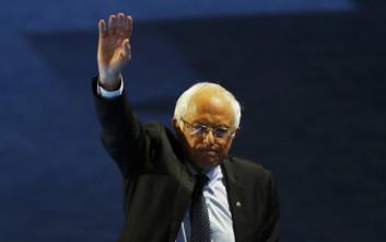 Υποψήφιος ξανά για το χρίσμα των Δημοκρατικών ο Μπέρνι Σάντερς