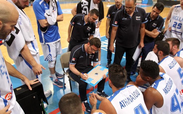 Στην τελική ευθεία η Εθνική Ελλάδας μπάσκετ για την πρόκριση στους Ολυμπιακούς του Ρίο