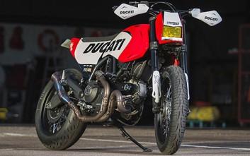 Η ειδικά διαμορφωμένη Scrambler Icon που εντυπωσίασε στο World Ducati Week