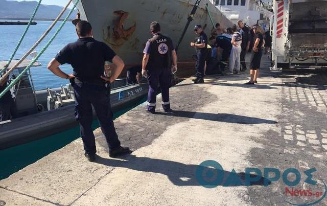 Άνδρας σε αναπηρικό αμαξίδιο έπεσε στο λιμάνι της Καλαμάτας και σκοτώθηκε