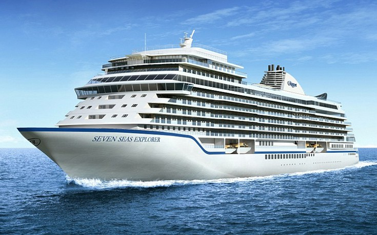 Το κρουαζιερόπλοιο-πλωτό παλάτι που κόστισε 450 εκατομμύρια δολάρια