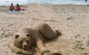 Φεστιβάλ γλυπτικής στην άμμο για πρώτη φορά στην Ελλάδα