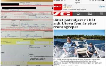 Νορβηγός αστυνομικός έκοψε κλήση στον εαυτό του για παράβαση