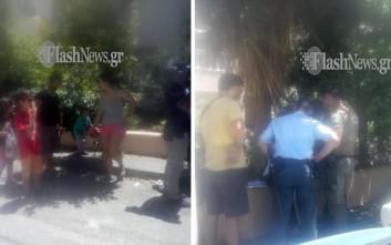Πατέρας 4 παιδιών απειλούσε να αυτοπυρποληθεί γιατί του κάνουν έξωση
