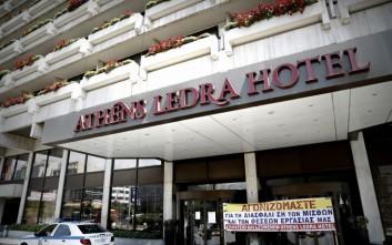 Ένταση στον πλειστηριασμό του Athens Ledra