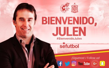 Ο Χουέν Λοπετέγι στον πάγκο της εθνικής Ισπανίας