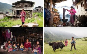 Καθηλωτικές εικόνες από τη νομαδική ζωή της φυλής Brokpa στο Μπουτάν