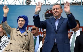 Το πολυδάπανο lifestyle της γυναίκας του Ερντογάν