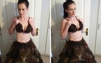 Αυτή η φούστα είναι φτιαγμένη από κάτι αρκετά αηδιαστικό