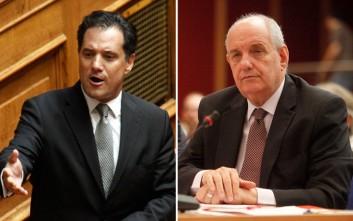 Αντιπαράθεση Γεωργιάδη και Κουίκ στη Βουλή