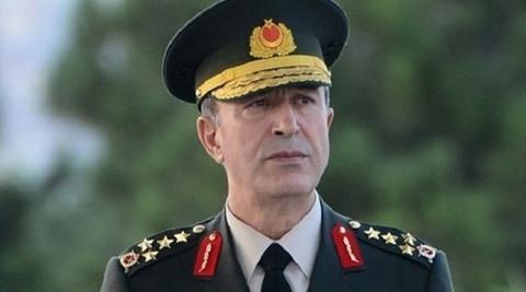 Απελευθερώθηκε ο αρχηγός των τουρκικών ενόπλων δυνάμεων