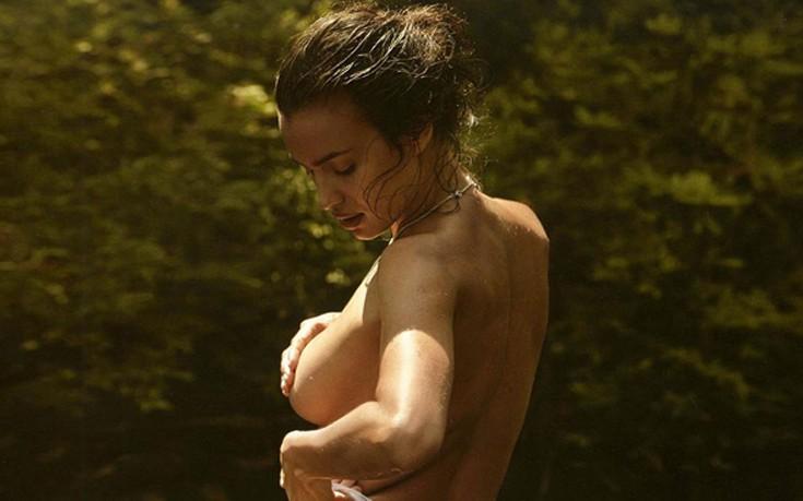 Η Irina Shayk βγήκε να... πιάσει τον ήλιο