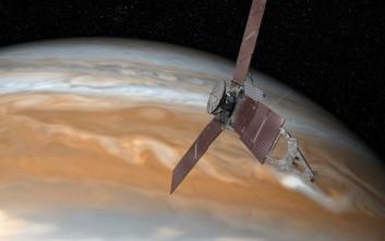 Σε τροχιά γύρω από το Δία το διαστημόπλοιο Juno