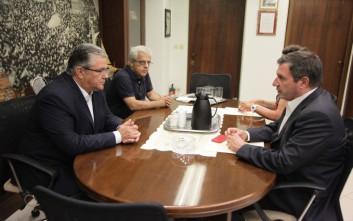 Συνάντηση Κουτσούμπα με το δήμαρχο Αθηναίων