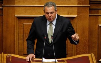 Δεν έγινε δεκτή η άρση ασυλίας του Καμμένου για τη μήνυση που του είχε κάνει ο Γιαννακόπουλος