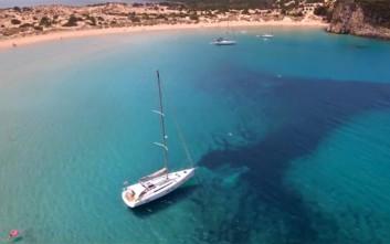 Πανέμορφες παραλίες της Μεσσηνίας... από ψηλά
