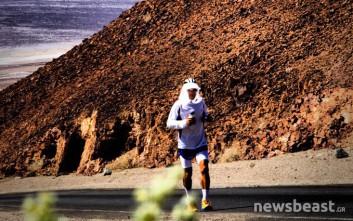 Ο Έλληνας που έτρεξε 536 χιλιόμετρα ασταμάτητα και… συνεχίζει να τρέχει