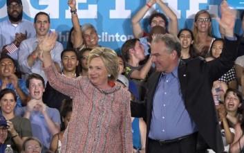 Τον Τιμ Κέιν επέλεξε η Χίλαρι για υποψήφιο αντιπρόεδρο των ΗΠΑ