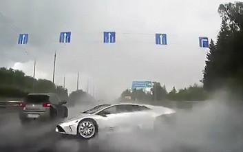Η καταστροφή μιας Lamborghini σε 6 δευτερόλεπτα