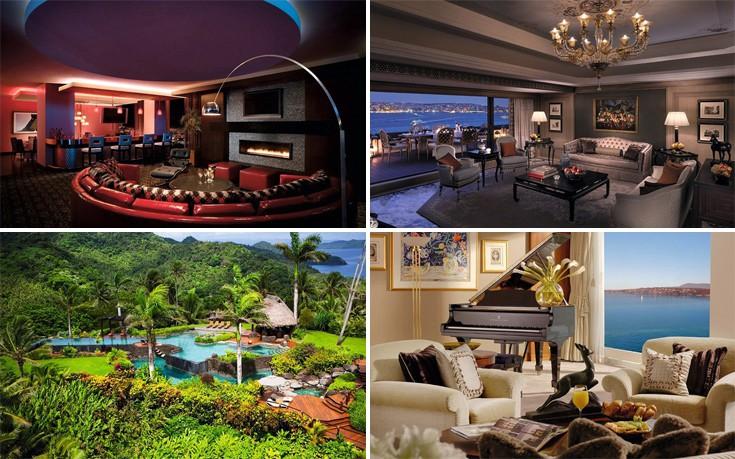Αυτές είναι οι δέκα ακριβότερες σουίτες ξενοδοχείων σε όλο τον κόσμο