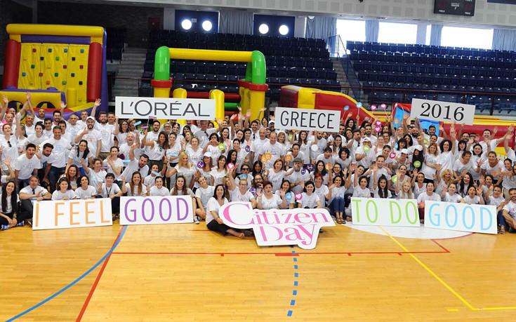 Η L'Oréal συνεχίζει να τιμά τη δέσμευσή της για αλληλεγγύη με την 7η ετήσια Ημέρα Εθελοντισμού