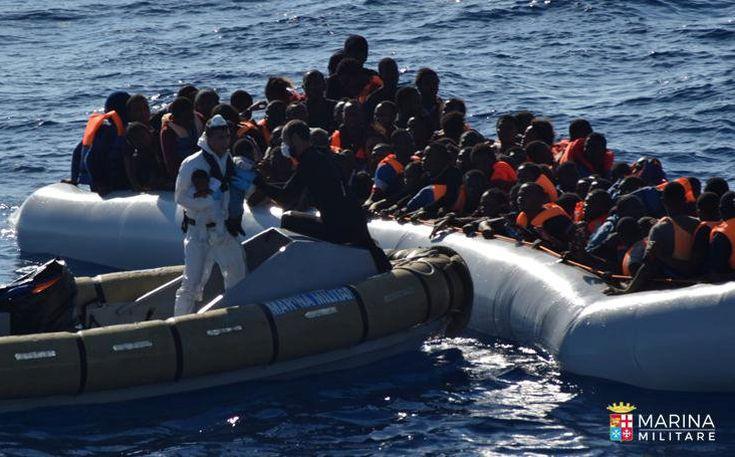 Τουλάχιστον 126 μετανάστες αγνοούνται στη Μεσόγειο