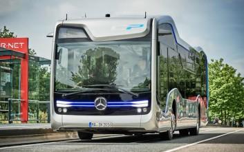 Το πρώτο αυτόνομο λεωφορείο στους δρόμους του Άμστερνταμ από την Mercedes-Benz