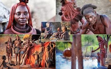 Μια μέρα στην απομονωμένη ζωή μιας φυλής στη Ναμίμπια