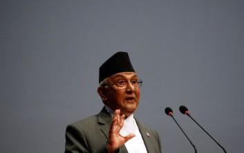 Παραιτήθηκε ο πρωθυπουργός του Νεπάλ