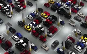 Ρομπότ-παρκαδόρος κατασκευάστηκε στην Κίνα