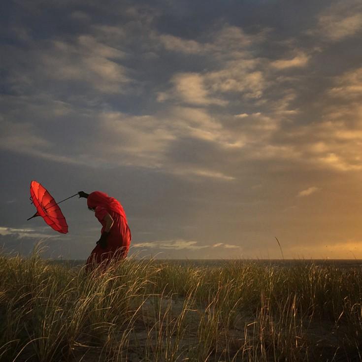 Φωτογραφία του Robin Roberts από το Carlsbad των ΗΠΑ, με τίτλο «Σκύβοντας με τον άνεμο», 2η θέση, Φωτογράφος της Χρονιάς