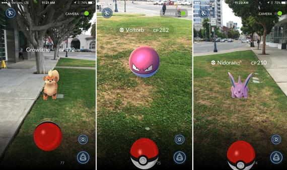 Pokemon Go διαθέσιμο και στην Ελλάδα Pokemon-go-screen-570