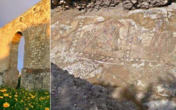 Οι Άθλοι του Ηρακλή αποκαλύπτονται σε ψηφιδωτό στη Λάρνακα