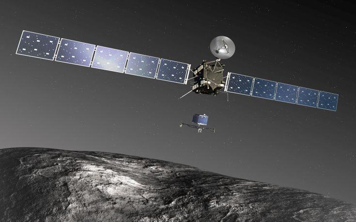 Η Rosetta αποχαιρέτησε οριστικά το μικρό ρομπότ Philae