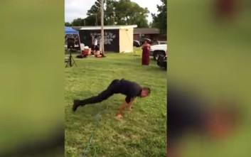 Ο χορός του αστυνομικού που έγινε viral!
