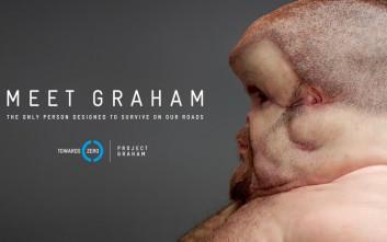 Graham, ο μόνος που θα μπορούσε να επιβιώσει σε κάθε τροχαίο