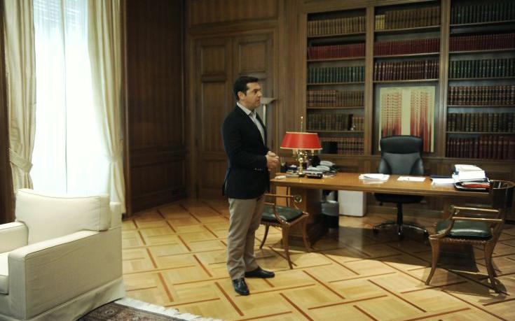 Με τους προέδρους των Ανώτατων Δικαστηρίων θα συναντηθεί αύριο ο Τσίπρας