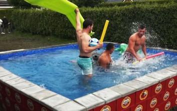 Δημιούργησαν πισίνα ιδανική για τους λάτρεις της μπύρας