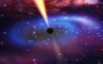 Μαύρη τρύπα πιάστηκε να... καταβροχθίζει ένα αστέρι
