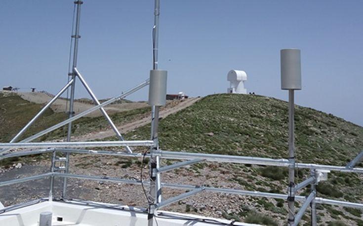 Στο Χελμό ο ψηλότερος ερευνητικός σταθμός Μέτρησης Περιβαλλοντικών και Κλιματικών Παραμέτρων