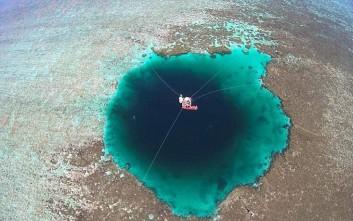 Η βαθύτερη υποβρύχια σπηλιά του κόσμου