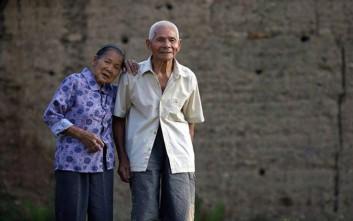 Το ζευγάρι που μετρά σχεδόν 100 χρόνια αγάπης αποκαλύπτει το μυστικό του