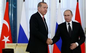 Τι θα συζητήσουν Ερντογάν και Πούτιν στη Μόσχα