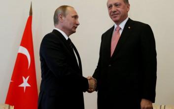 Το Βερολίνο χαιρετίζει τη συνάντηση Πούτιν-Ερντογάν