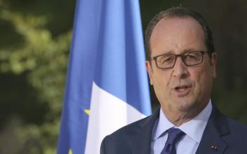 Ολάντ: Έρχομαι να χαιρετίσω την επιτυχία της Ελλάδας