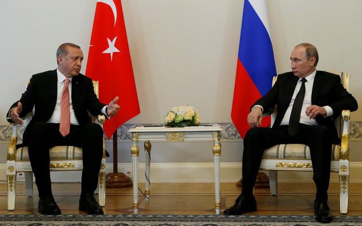 Ποιοι έφεραν κοντά Πούτιν και Ερντογάν