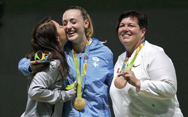 Η Αννα Κορακάκη έφερε το χρυσό από τα νταμάρια της Δράμας