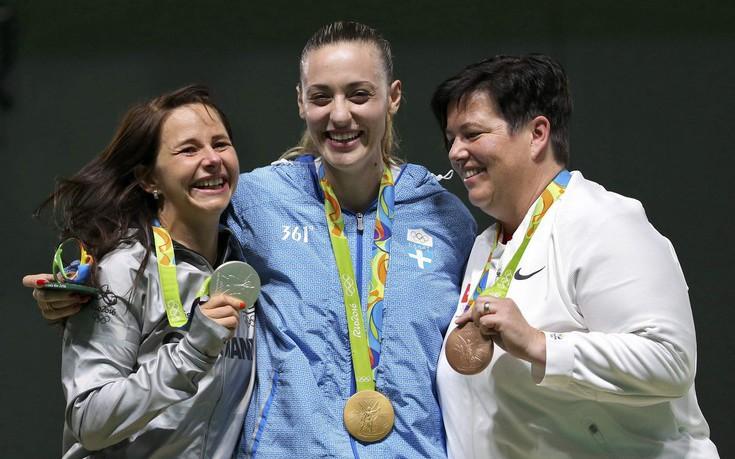 Χωρίς την Άννα Κορακάκη η εκδήλωση για τους Ολυμπιονίκες στο Προεδρικό Μέγαρο