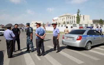 Σείστηκαν σπίτια από την έκρηξη στο Κιργιστάν