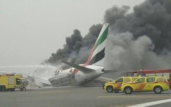 Ανώμαλη προσγείωση αεροσκάφους στο Ντουμπάι